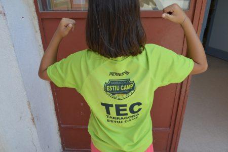 Niñ@s del CRAE Voramar disfrutan de un verano en el Tarragona Estiu Camp (TEC)