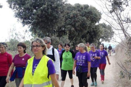 Una caminata en Granollers sirve para celebrar el Día Mundial de la Salud Mental