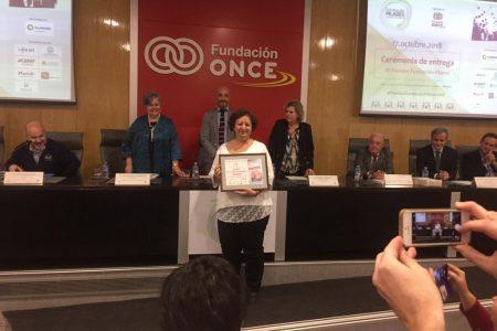 Recibimos el Diploma Accésit en la III Edición de los Premios de la Fundación Pilares