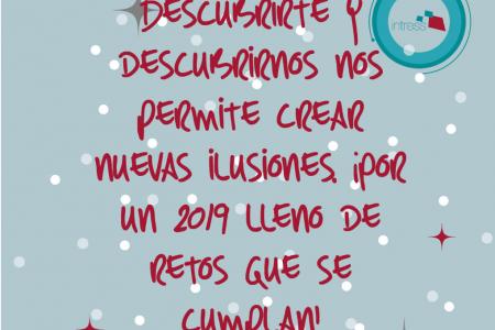 DESDE INTRESS OS DESEAMOS ¡FELICES FIESTAS Y UN PRÓSPERO 2019!