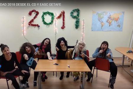 FELIZ NAVIDAD 2018 DESDE EL CD Y EASC GETAFE